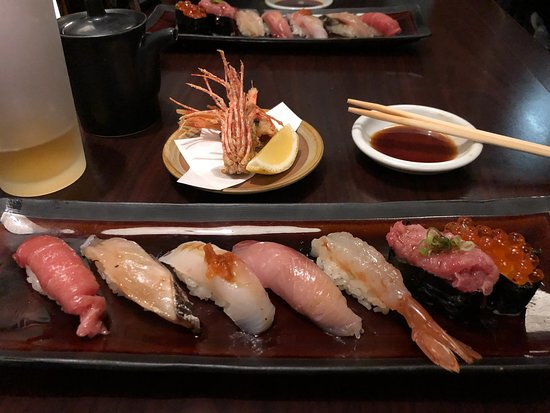 Shiro's Tasting Menu - Sushi (Everything was fantastic but I thought the botan ebi wasn't sweet)