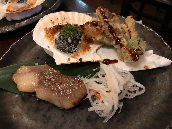 Shiro's Tasting Menu - Entrees
