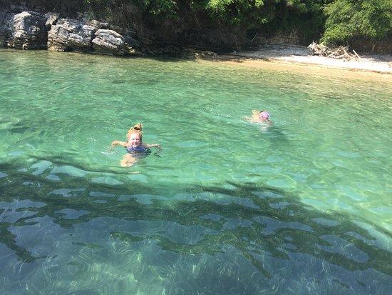 Corfu, กรีซ: Fantastic for swimming