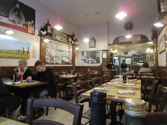 Trattoria Pizzeria San Gallo : Cozy interior
