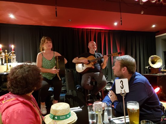 Dublin Traditional Irish Musical Pub Crawl Fotografie