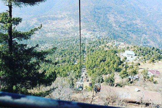 New Murree, Pakistan: Patriata Chair Lift