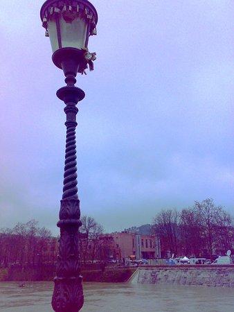 Ponte Milvio: lampione