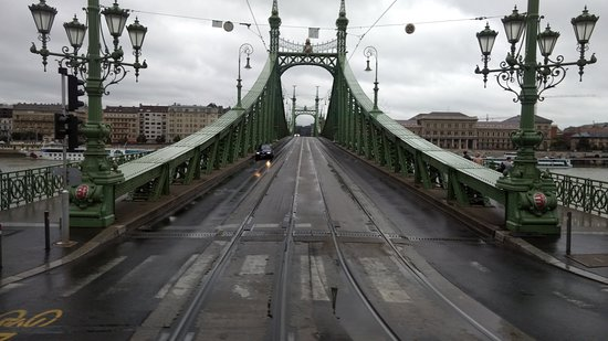 Liberty Bridge (Szabadsag hid): Liberty Bridge - Budapeste.