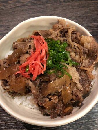 Dozo Izakaya : Orion Beef Rice Bowl