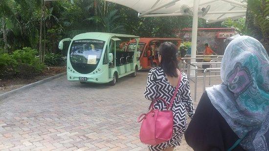 Zoo Negara: Shuttle service