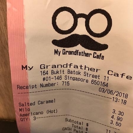 My Grandfather Cafe Photo
