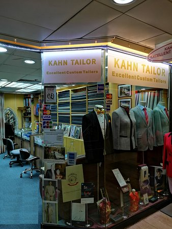 Kahn Tailor one of the best tailor in Hong Kong.
