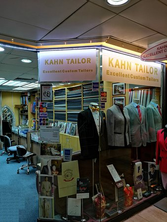 Handmade Suits, Bespoke Shirts and Tailored Tuxedos service offer by Kahn Tailor