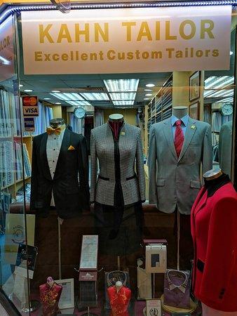 Kahn Tailor: Excellent Custom Tailors Hong Kong
