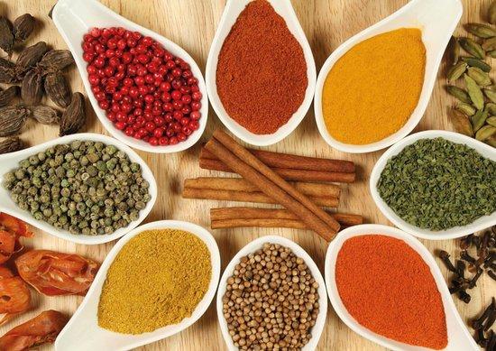 Azaiba, Oman: Spices - AnjapparOman