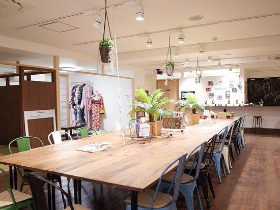 Hostel Enisia Namba: Big Lounge
