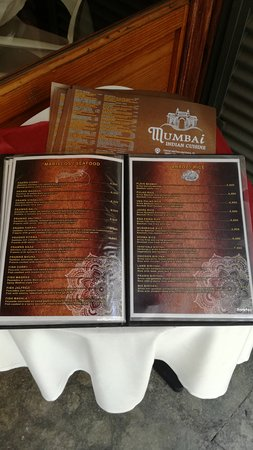 Mumbai restaurant take out delivery menu