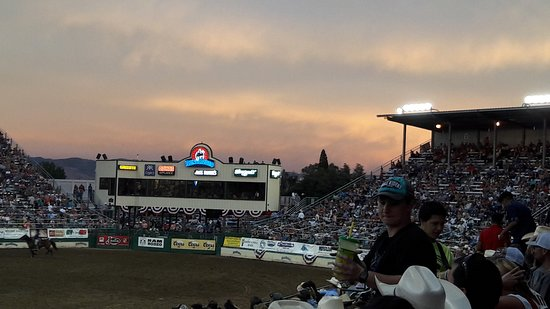 Reno Rodeo Cattle Drive: le tribune