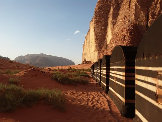 Wadirum Desert Life Camp : One of the expansive views