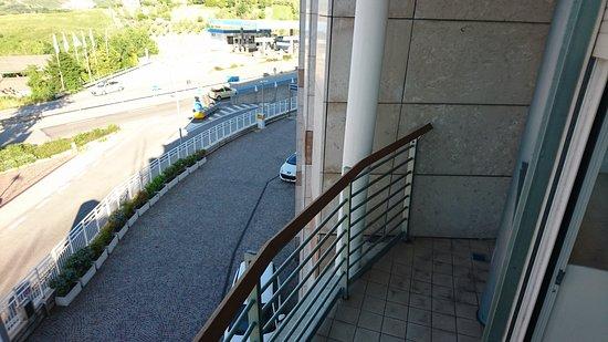 Palace Hotel: balcone camera tripla