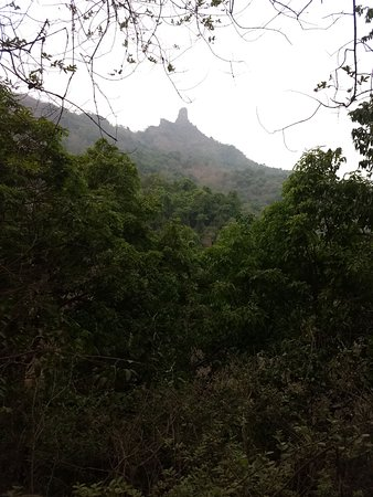 Karnala Bird Sanctuary: view of the hill from base