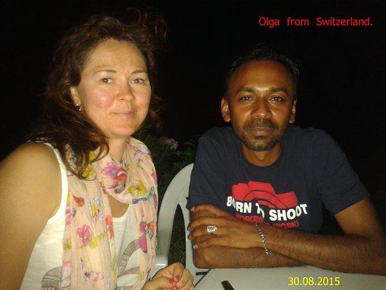Lanka Inora Travels : My German Friend !!