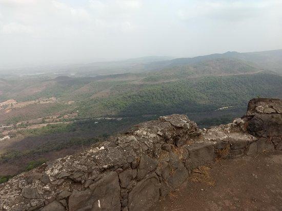 Karnala Bird Sanctuary: view from hill