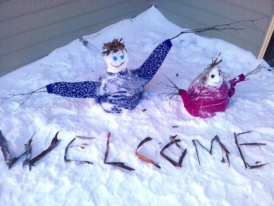 Sundeck Hotel: Snowman competition. Winner will be selected by staff in the end of the season!