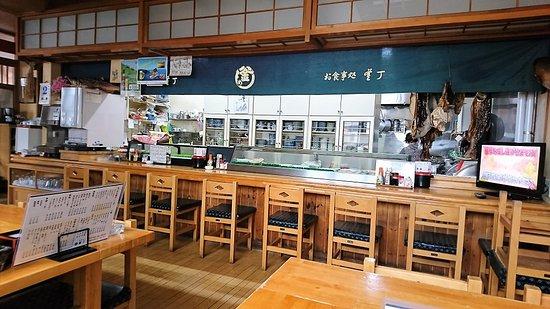 釜丁食事処, 店内風景