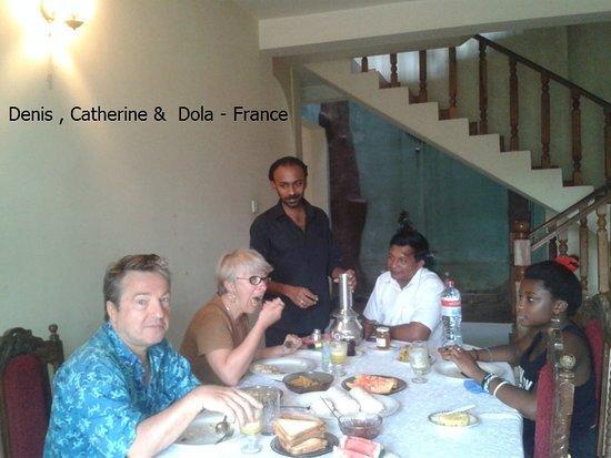 Lanka Inora Travels: My France group @ Inora Homestay Peradeniya Kandy Sri lanka