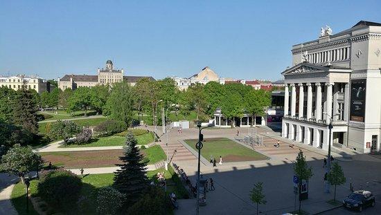 Grand Hotel Kempinski Riga: Opera from Deluxe room with Opera view #427