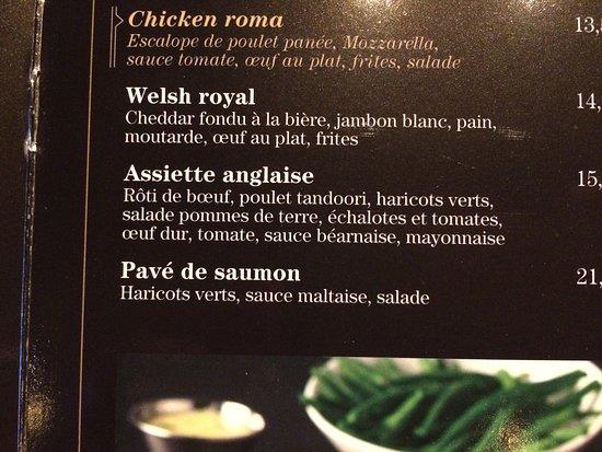 L assiette anglaise picture of au bureau audincourt audincourt