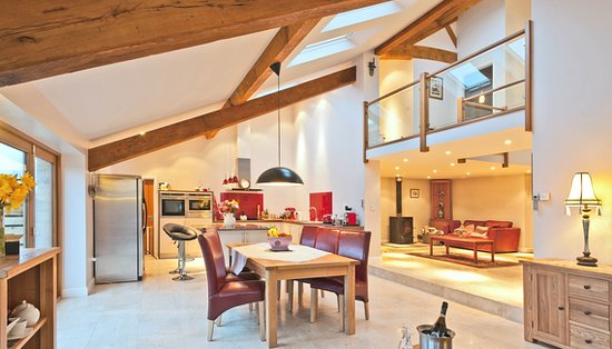 High Bentham, UK: Lounge /dining room