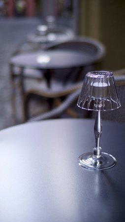 Hellberg Restaurant: The small terasse