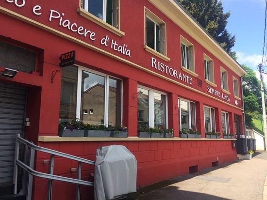 Villerupt, France: Le restaurant