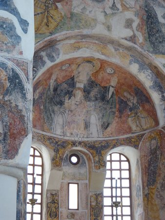 Chiesa di San Pietro: L'intérieur de l'église byzantine, le choeur