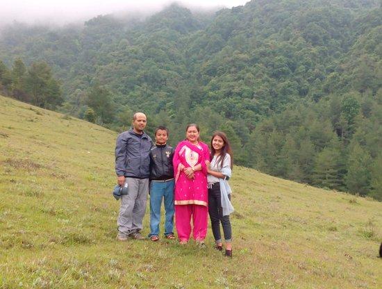 Chitlang, Непал: Nature.