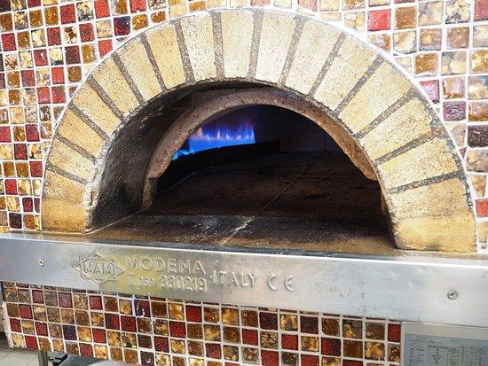 Lilienthal, Γερμανία: Pizza aus unserem Original Steinofen