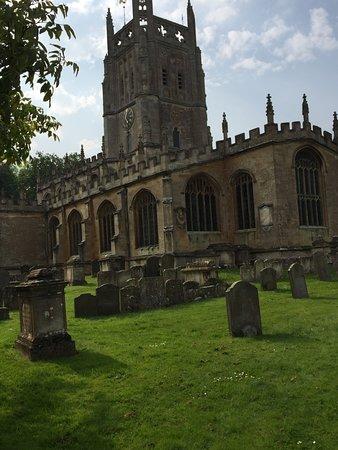 Fairford, UK: St. Mary's Church east aspect