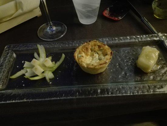 Colore & Sapori: Flan di Asparagi con Pecorino in tempura