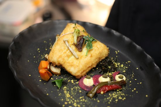 Hellberg Restaurant: Lunch dish with fish