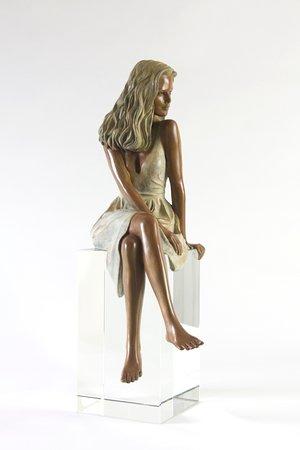 Alain Choisnet Sculpteur: Fiona - bronze - H 55 cm