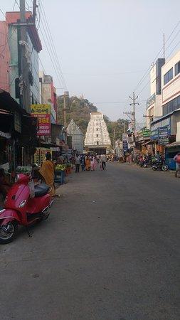 Sri Kalahasteeswara Swami Temple: One of the Gopuram with ancient architecture