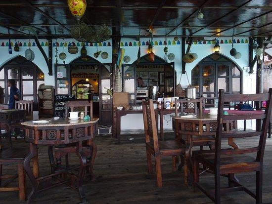 LangiLangi Beach Bungalows Cafe照片
