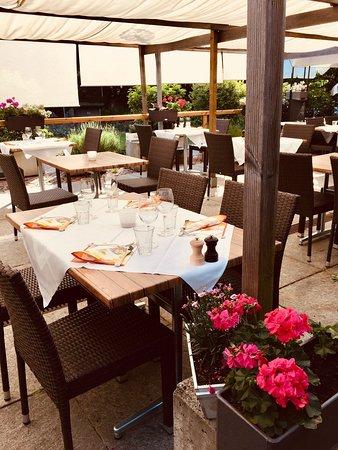 Restaurant Rathausgarten Aarau: GartenRestaurant im Grünen
