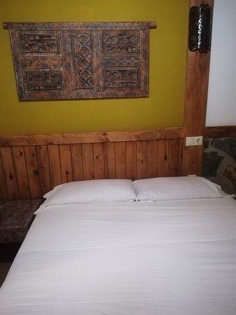 Hotel Plaza: cama