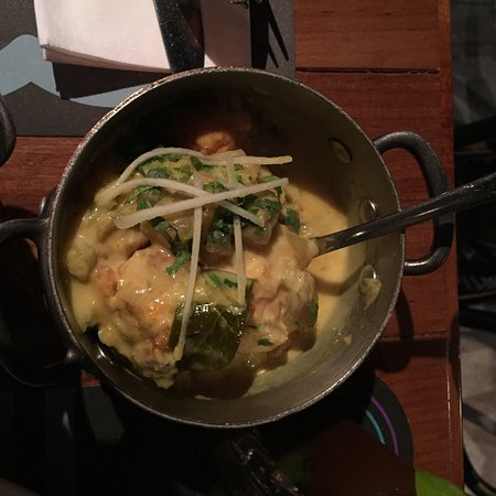 Mango Fish curry at Bindaas Bar + Kitchen