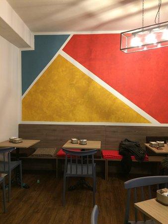Il Caffe Bistrot : La sala interna vista da un'altra prospettiva