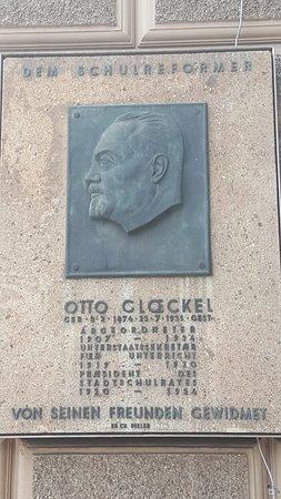 Gedenktafel Otto Glöckel