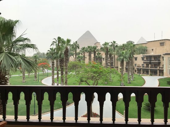 Marriott Mena House, Cairo: il est 6 heures du matin