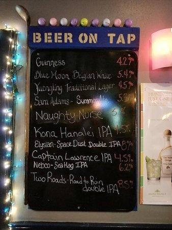 Mulligans : Mulligan's Beer on Tap
