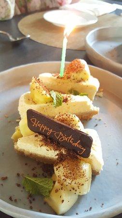Italics & Rise at Akyra Manor Chiang Mai : Complementary Birthday Cake (Free ^^)