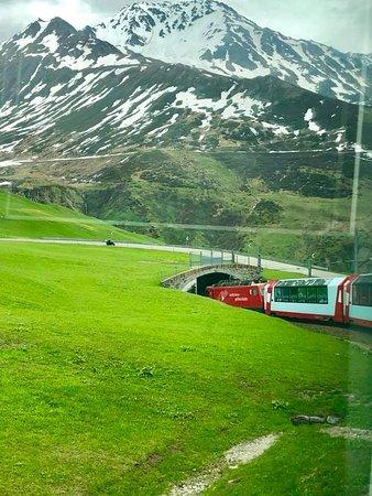 Glacier Express ภาพถ่าย