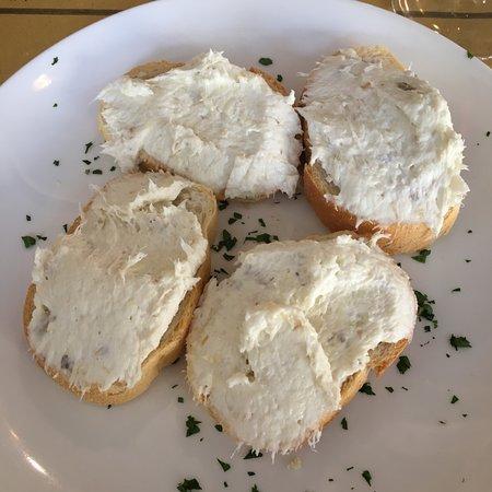 La Sofia : Crostini di baccala